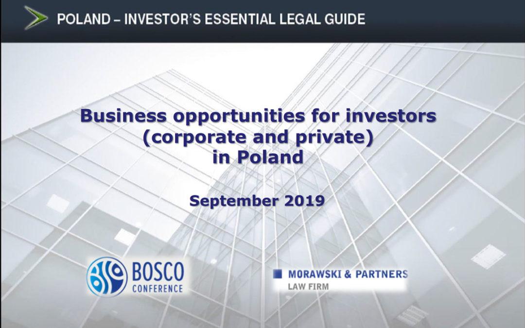 Konferencja InvestPro Poland w hotelu InterContinental w Warszawie